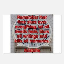 Remember That Time Slurs - Aristotle Postcards (Pa