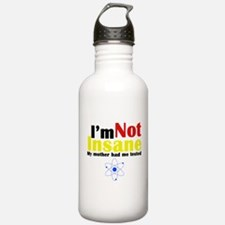 Big Bang Not Insane Water Bottle