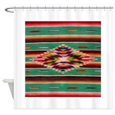 Southwest Indian Weaving Shower Curtain