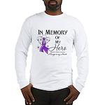 In Memory Alzheimers Long Sleeve T-Shirt