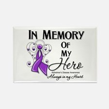In Memory Alzheimers Rectangle Magnet