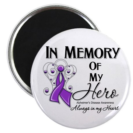 """In Memory Alzheimers 2.25"""" Magnet (10 pack)"""