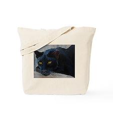 Black Cat (Panther) Tote Bag