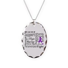 Alzheimers Disease Words Necklace