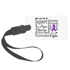Alzheimers Disease Words Luggage Tag