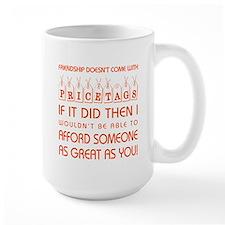 PRICE TAGS (RED) Mug