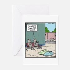 Computer Geeks Greeting Cards (Pk of 10)