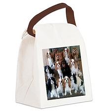 Cavalier Spaniel CKCS Group Canvas Lunch Bag