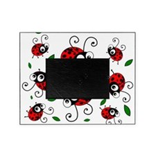Cute Ladybug Pattern Picture Frame