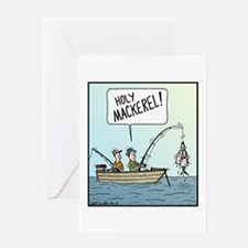 Holy Mackerel! Greeting Card