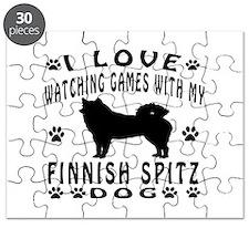 Finnish Spitz design Puzzle
