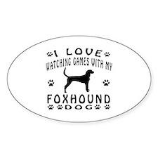 Foxhound design Decal