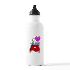 Blood type AB Water Bottle