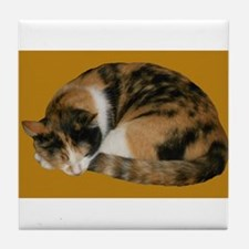 Callico Napping Tile Coaster