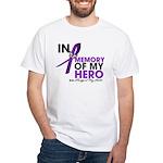 Alzheimer Disease In Memory White T-Shirt
