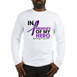 Alzheimer Disease In Memory Long Sleeve T-Shirt