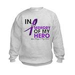 Alzheimer Disease In Memory Kids Sweatshirt