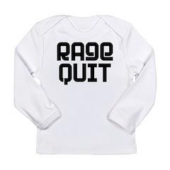 RAGE QUIT! Long Sleeve Infant T-Shirt