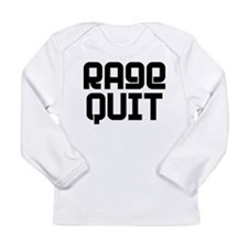 RAGE QUIT! Long Sleeve Infant T-Shirt
