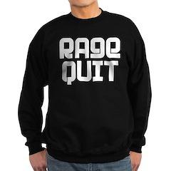 RAGE QUIT! Sweatshirt (dark)