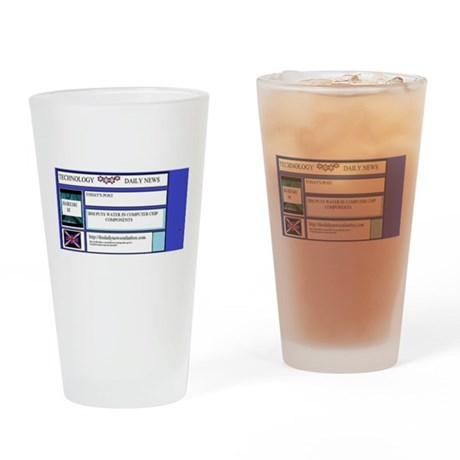 The Technology Center Drinking Glass