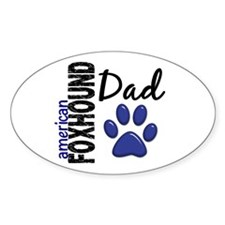 American Foxhound Dad 2 Decal