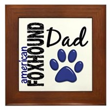 American Foxhound Dad 2 Framed Tile
