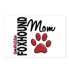 American Foxhound Mom 2 Postcards (Package of 8)
