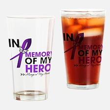 In Memory Alzheimer Disease Drinking Glass