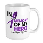 In Memory Alzheimer Disease Large Mug