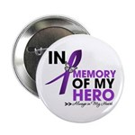 "In Memory Alzheimer Disease 2.25"" Button (100"