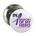 "In Memory Alzheimer Disease 2.25"" Button (10"