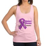 Alzheimers Disease Awareness Racerback Tank Top