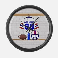Personalized American Football Grid Iron WRB Large