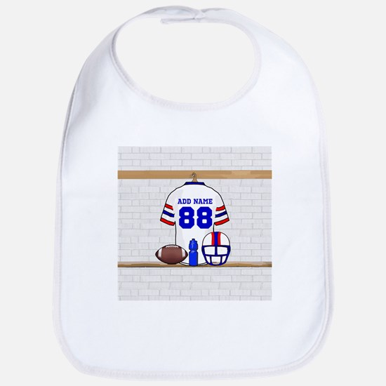 Personalized American Football Grid Iron WRB Bib