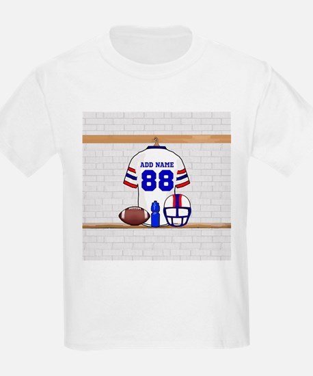 Personalized American Football Grid Iron WRB T-Shirt