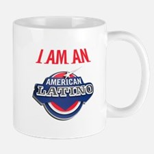 I AM AN AMERICAN LATINO Mug