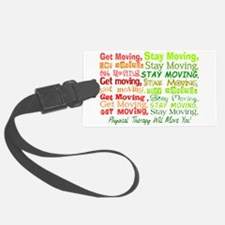 physical therapy will move you blanket 2.PNG Luggage Tag