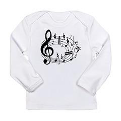 BASS (Speaker) Long Sleeve Infant T-Shirt