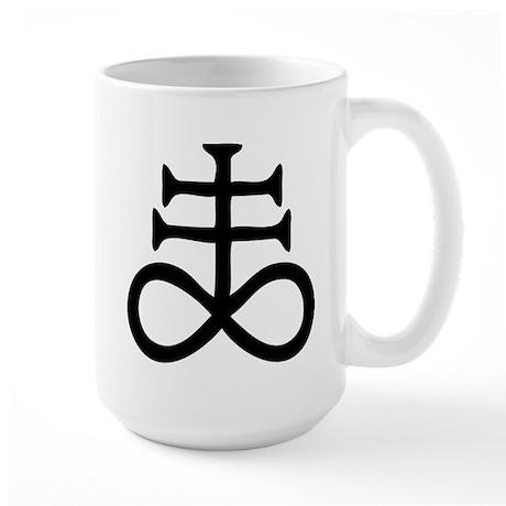 Satanic Cross Large Mug
