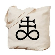 Satanic Cross Tote Bag