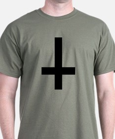 Upside Down Cross T-Shirt