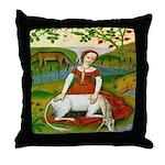 The Unicorn Throw Pillow