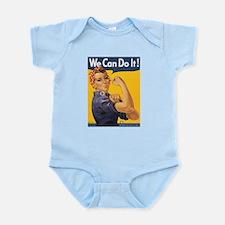 Rosie The Riverter Infant Bodysuit
