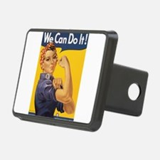 Rosie the Riveter Hitch Cover