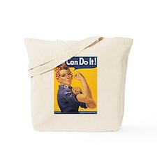 Rosie The Riverter Tote Bag