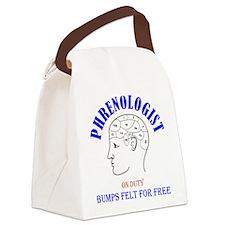 Phrenology head Canvas Lunch Bag
