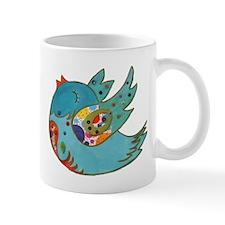 Cute happy bird Mug