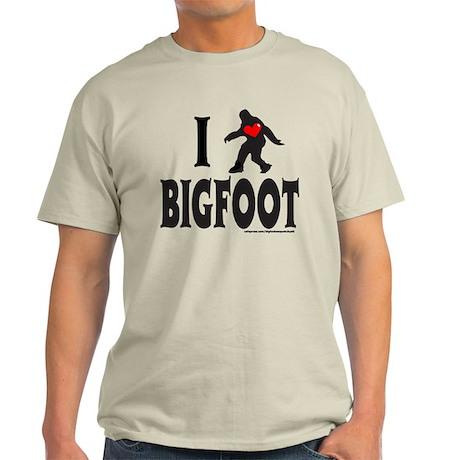 I HEART/LOVE BIGFOOT Light T-Shirt
