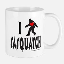 I HEART/LOVE SASQUATCH Mug